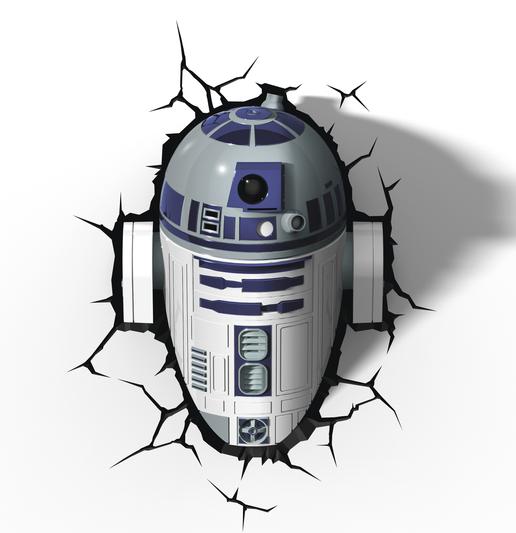 3D světlo EP7 - Star Wars R2D2