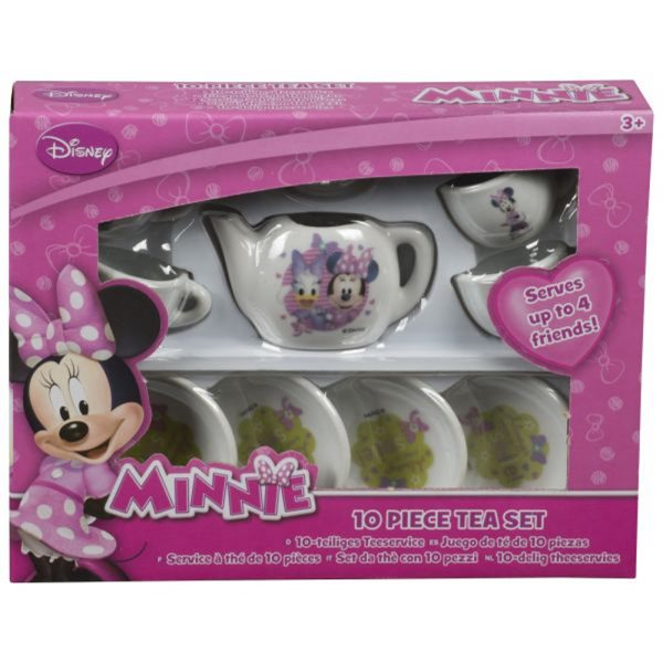 Porcelánový čajový set Minnie - 10 ks