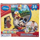 Pěnové puzzle 25 ks - Mickey Mouse