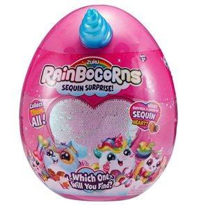 Rainbocorns - plyšový jednorožec
