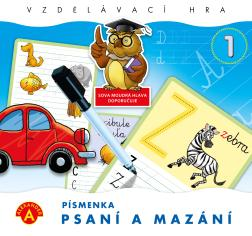 Psaní - mazání - písmenka