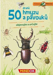 50 druhů hmyzu a pavouků - Expedice příroda