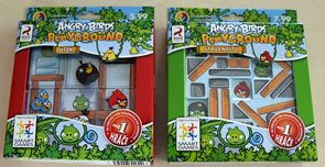 Set SMART her Angry Birds Playground Staveniště + Útok