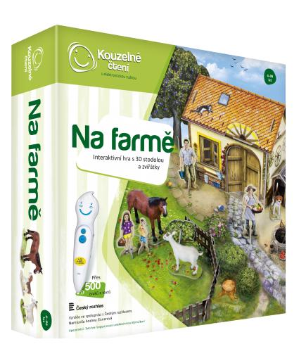 Kouzelné čtení - Na farmě - hra