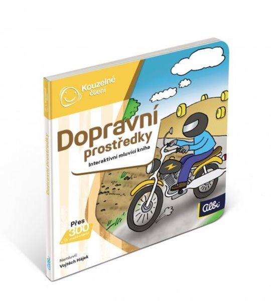 Kouzelné čtení - Minikniha pro nejmenší - Dopravní prostředky