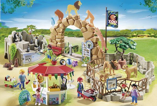 Velká ZOO 6634 - Playmobil, Doprava zdarma