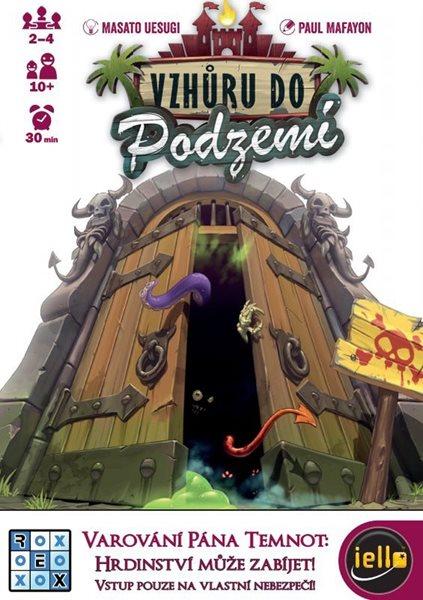 Vzhůru do podzemí - karetní hra