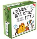 Vzdělávací kartičkové hry 3, soubor 4 her (240 karet)