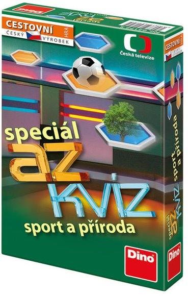 AZ kvíz Sport a příroda - společenská hra cestovní v krabici