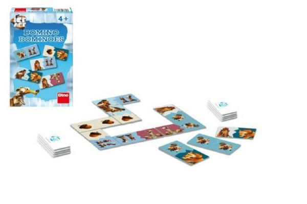 Domino Doba ledová společenská hra malá v krabici 11x 18x 3,5cm