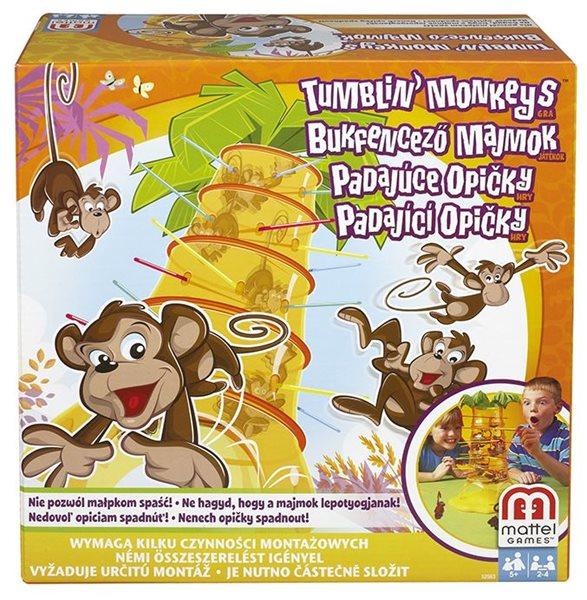 Padající opičky - hra