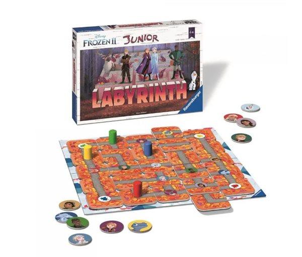 Labyrinth Junior Disney Ledové království 2