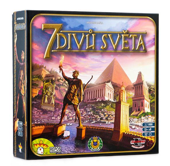 7 Divů světa - rychlá a svěží karetní hra !