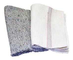 Mycí hadr Libor tkaný - šedý 60x60 cm