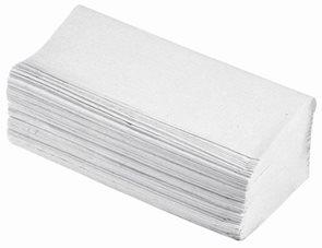 Z-z papírové ručníky - bílé (200 ks) 100% recykl