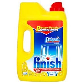 Finish prášek do myčky - lemon 2,5 kg