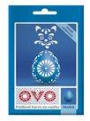 OVO prášková barva na vajíčka 5g - modrá