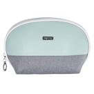 Kosmetická taška kulatá - Grey Mentol