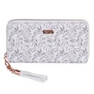 Dámská peněženka velká - White Leaves