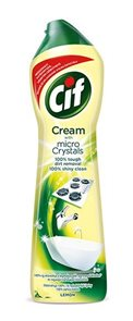 Cif cream tekutý písek - lemon 500 ml