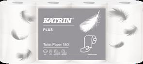 Katrin toaletní papír 2 vrstvý - bílý ( 8 ks )