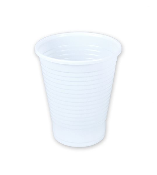 Kelímky bílé 200 ml - 30 ks