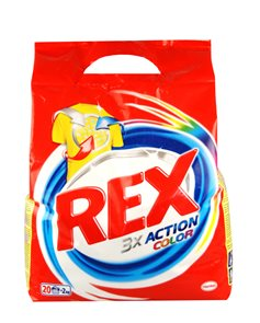 Rex Color efekt prací prášek - 2kg