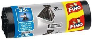 Pytle na odpad Fino Economy 35 l - černé ( 30 ks )