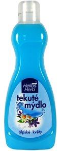 Helios Herb tekuté mýdlo 1L - Alpské květy