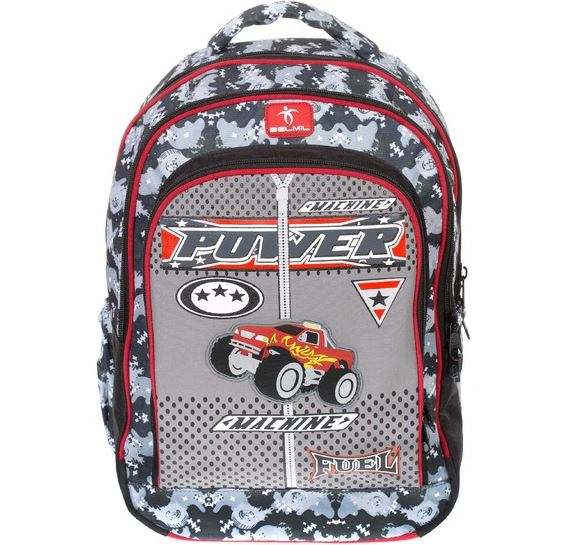 Školní batoh Belmil - Power Machine