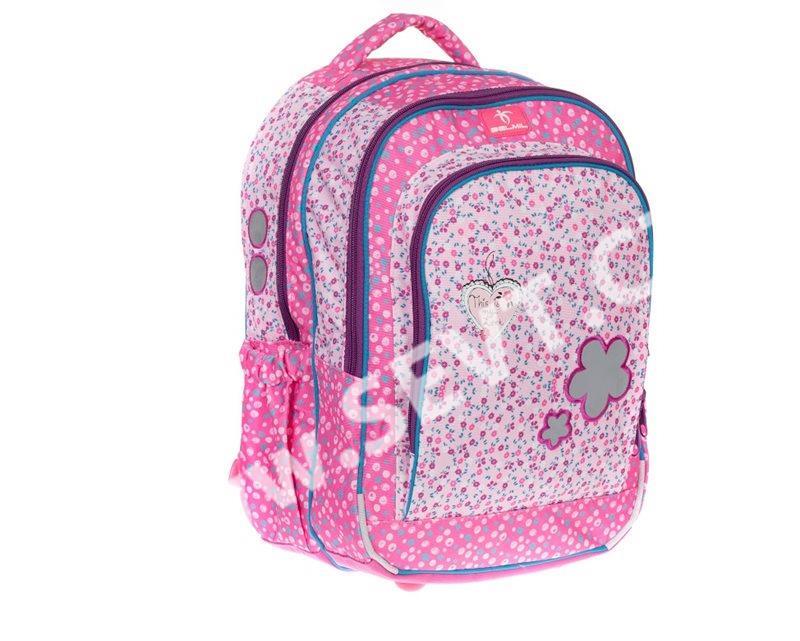 8da5234b44c Školní batoh Belmil - Kytky