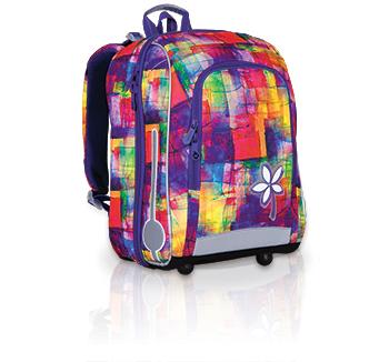 Školní batoh TOPGAL - CHI 735 I - fialová