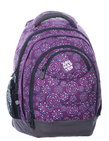 Studentský batoh - NIE 0115 C - Fialová