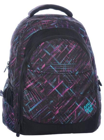 Studentský batoh - DIGITAL 0115 B - Černý, Doprava zdarma