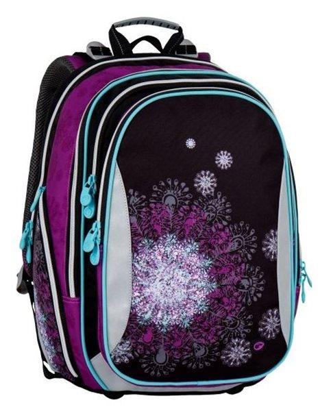 Školní batoh Bagmaster - ELEMENT 7 A BLACK/VIOLET/BLUE, Doprava zdarma