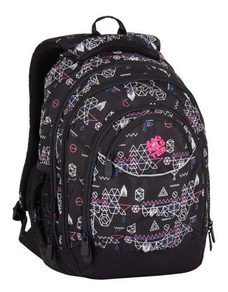 Studentský batoh Bagmaster - ENERGY 7 E BLACK/PINK