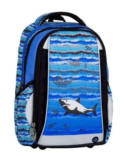 Školní batoh Bagmaster - MERCURY 7 B BLUE/BLACK/GREY, Doprava zdarma