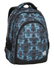 Studentský batoh Bagmaster - DIGITAL 8 C BLACK/BLUE/GREEN
