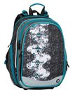 Školní batoh Bagmaster - ELEMENT 8 B BLACK/GRAY/BLUE