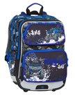 Školní batoh Bagmaster - GALAXY 8 C BLACK/BLUE/WHITE