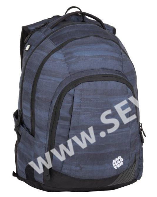 9cd0cd2846 Studentský batoh Bagmaster - LINCOLN 8 A BLACK GRAY - SEVT.cz
