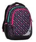 Školní batoh Bagmaster - MAXVELL 8 A BLACK/PINK/GREEN