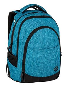 Studentský batoh Bagmaster - DIGITAL 9 D BLUE/BLACK