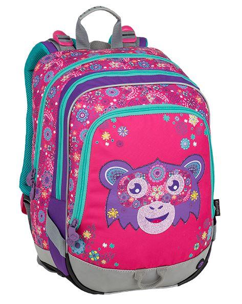 Školní batoh Bagmaster - ALFA 9 A PINK/VIOLET