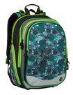 Školní batoh Bagmaster - ELEMENT 9 B BLACK/GREEN/GRAY