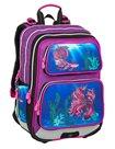 Školní batoh Bagmaster - GALAXY 9 C VIOLET/BLUE
