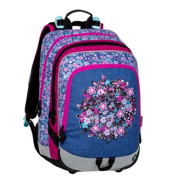 Školní batoh Bagmaster - ALFA 20 A BLUE/PINK/WHITE