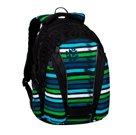Studentský batoh Bagmaster - BAG 20 C BLUE/GREEN/BLACK/WHITE
