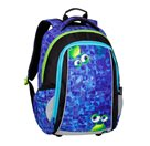 Školní batoh Bagmaster - MARK 20 B BLUE/GREEN/BLACK