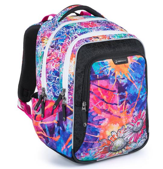 Školní batoh Bagmaster - LUMI 21 A COLOURFUL